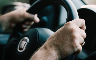 Driving With Hands at 10 And 2