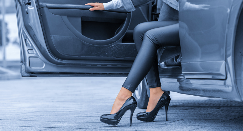 Driving In High Heels